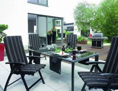 kettler gartenm bel gruppe avantgarde black line set ebay. Black Bedroom Furniture Sets. Home Design Ideas