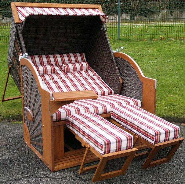 devries strandkorb comfort xl pure halbliegemodell. Black Bedroom Furniture Sets. Home Design Ideas