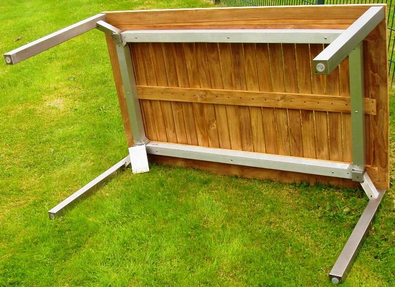 Gartenmobel Set Aus Eisen : Details zu KETTLER GARTENMÖBEL EDELSTAHL TEAK TISCH 150×90 cm NEU