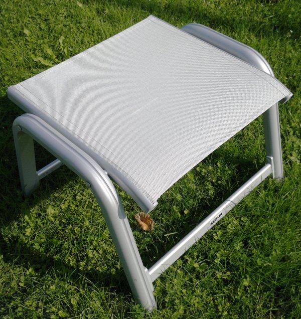 kettler hks hocker scirocco silber weiss grau frei haus top g nstig ebay. Black Bedroom Furniture Sets. Home Design Ideas