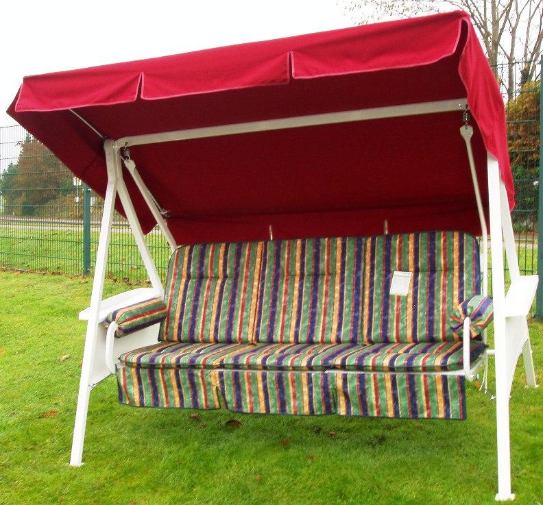 kettler schaukel hollywoodschaukel montana silber auflagen 05161 219 frei haus ebay. Black Bedroom Furniture Sets. Home Design Ideas