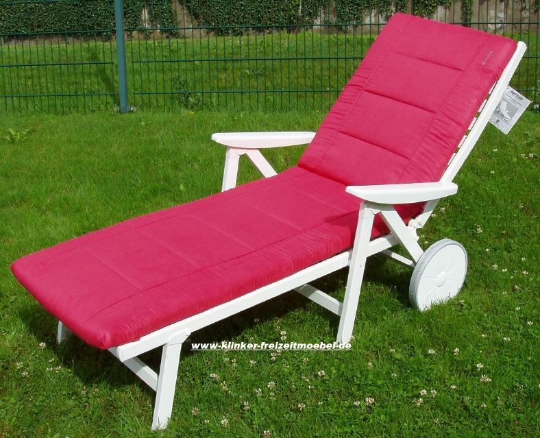 kettler hks liegenauflage abziehbar rot artikel 01681 236 frei haus g nstig. Black Bedroom Furniture Sets. Home Design Ideas