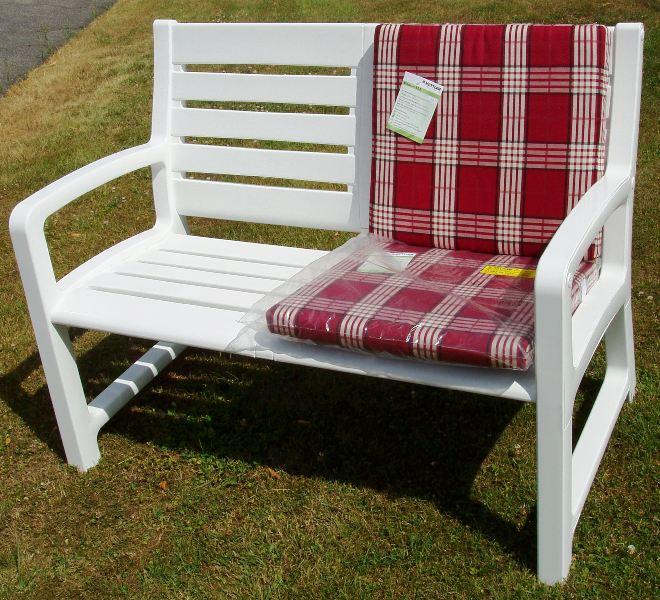 kettler landhaus bank sessel auflage kissen hampton neu ebay. Black Bedroom Furniture Sets. Home Design Ideas