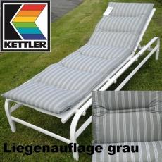 KETTLER HKS LIEGENAUFLAGE DESSIN 720 MIT DOPPELQUERSTEPPUNG