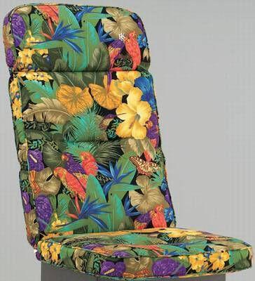 kettler hks sitzkissen auflagen dessin 194 papagei, Gartenmöbel