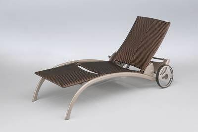 kettler hks alu hularo rollliege liege melange champagner. Black Bedroom Furniture Sets. Home Design Ideas