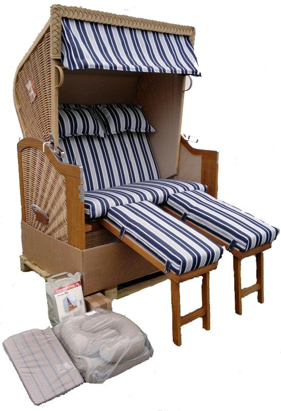 devries strandkorb baltic xl liegemodell kissen. Black Bedroom Furniture Sets. Home Design Ideas