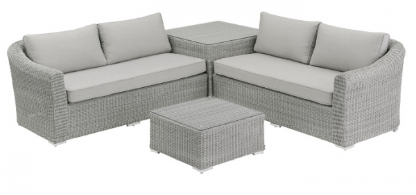 KETTLER ALU GEFLECHT COUCH SET OXFORD