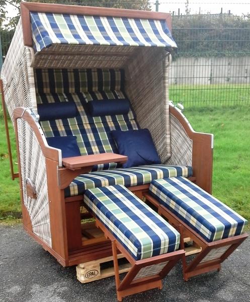 devries strandkorb pure comfort xl hl pe mocca java. Black Bedroom Furniture Sets. Home Design Ideas
