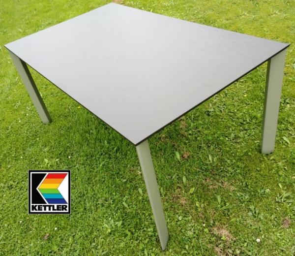 kettler alu kettalux lofttisch schieferoptik 160 x 95 cm. Black Bedroom Furniture Sets. Home Design Ideas