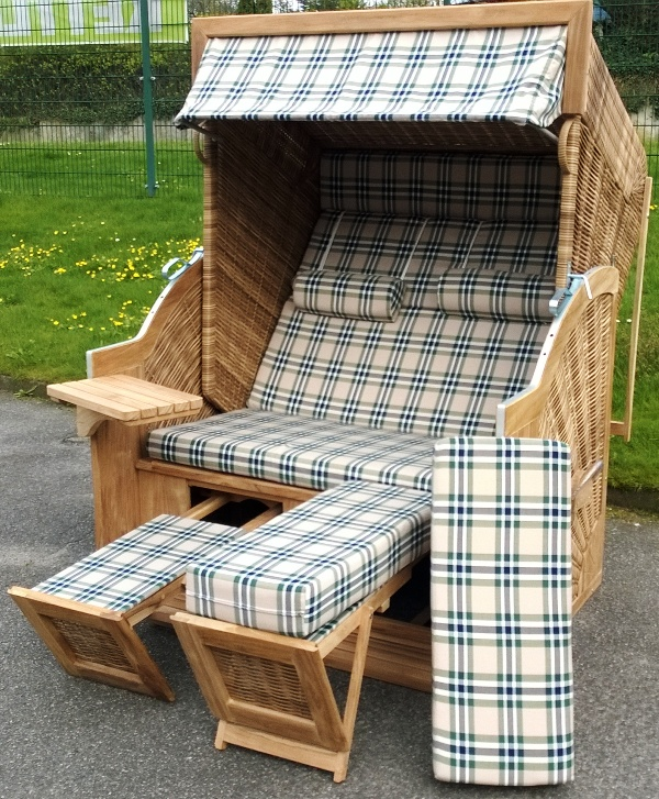 devries pure comfort xl perfect cheap fr diesen strandkorb sind folgende dessins sind verfgbar. Black Bedroom Furniture Sets. Home Design Ideas
