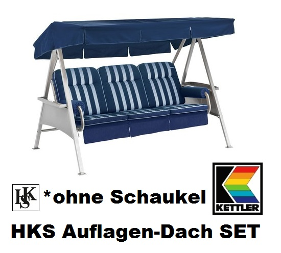kettler hks schaukelauflagen dach set hollywoodschaukel auflagen ohne schaukel ebay. Black Bedroom Furniture Sets. Home Design Ideas