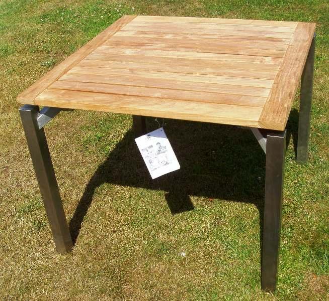 Gartenmobel Set Aus Eisen : maße hks tisch cubic kettler art 03290 090 kettler edelstahl fsc teak
